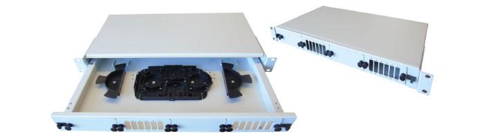 1U Drawer Splice & Patch Shelf ODF Çekmece
