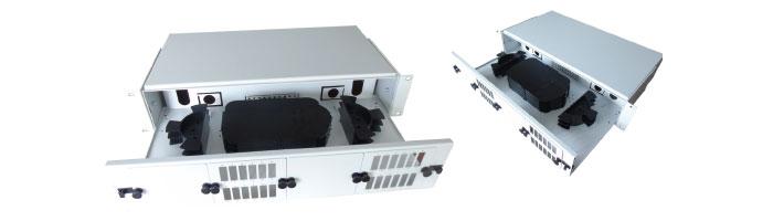2U Drawer Splice & Patch Shelf ODF Çekmece