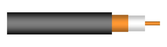 Coax3 CT 33 S (3.3/13.5) Yüksek Frekans Koaksiyel Kablo