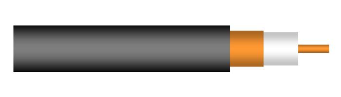 Coax4 CT 22 S (2.2/8.8) Yüksek Frekans Koaksiyel Kablo