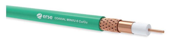 COAXIAL MINI/U-6 Cu/Cu Zayıf Akım Koaksiyel Kablo