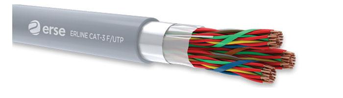 ERLINE CAT-3 F/UTP Zayıf Akım Veri İletişim Kablosu