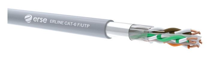 ERLINE CAT-6 F/UTP Zayıf Akım Veri İletişim Kablosu