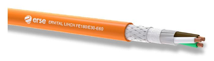 ERVITAL LIHCH FE 180/E30-E60 Zayıf Akım Yangına Dayanıklı Kablo