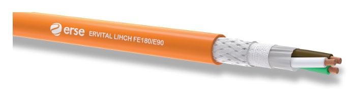 ERVITAL LIHCH FE180/E90 Zayıf Akım Yangına Dayanıklı Kablo
