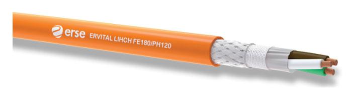 ERVITAL LIHCH FE180/PH120 Zayıf Akım Yangına Dayanıklı Kablo