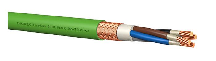 FireKab BFOI FE180 0.6 / 1 (1.2) Kv Gemi ve Yat Sabit Tesisat Kablosu