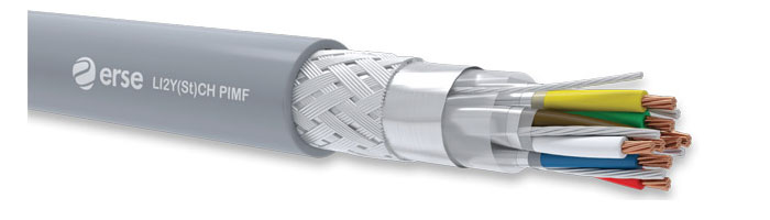 LI2Y(St)CH PIMF Zayıf Akım Veri İletişim Kablosu