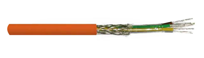 LiHCH FE 180 PH 120 Yangına Dayanıklı Sinyal ve Bilgi İletişim Kablosu