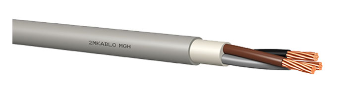 MGH 0.6 / 1 kV Gemi ve Yat Haberleşme Kontrol Kablosu
