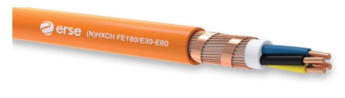 (N)HXCH FE180/E30-E60 Zayıf Akım Yangına Dayanıklı Kablo