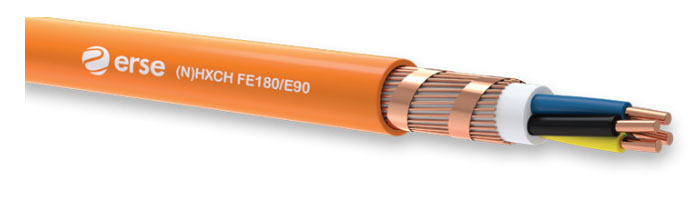 (N)HXCH FE180/E90 Zayıf Akım Yangına Dayanıklı Kablo