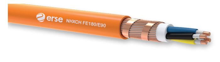 NHXCH FE180/E90 Zayıf Akım Yangına Dayanıklı Kablo