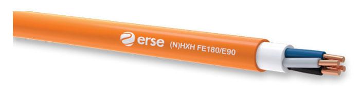(N)HXH FE180/E90 Zayıf Akım Yangına Dayanıklı Kablo