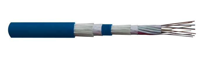 OFC LT NM FE 90 / LSOH Kılıflı, Zırhsız Çok Tüp Yangına Dayanıklı Fiberoptik Kablo
