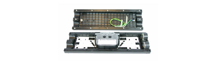 OP004-06 ESDF4 In-Line Joint Fiberoptik Kablo Ek Kutu