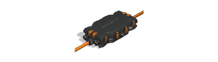 OP017-10 Prysmian Tube Distribution Closure MKII Fiberoptik Kablo Ek Kutu