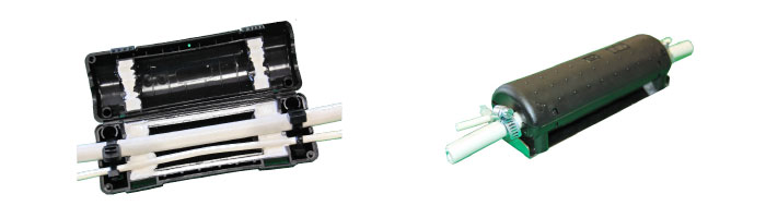 OP022-05 Outdoor Verticasa Breakout Unit Fiberoptik Kablo Aksesuarı