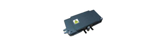 OP038-03 TBE-I4 Tapping Box External Inline 4 Drops Fiberoptik Kablo Ek Kutu