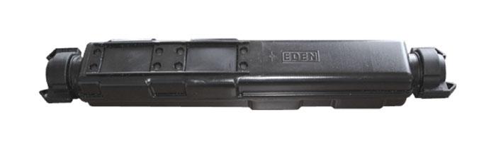 OP042-01 Extended 50mm In-Line Closure Fiberoptik Kablo Aksesuarı