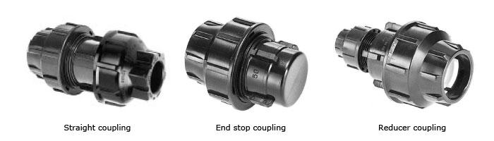 OP047-01 HDPE Duct Coupling Fiberoptik Kablo Aksesuarı
