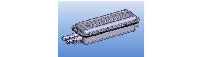 OP052-02 VXOK 1030SO-G- Joint Closure Fiberoptik Kablo Ek Kutu
