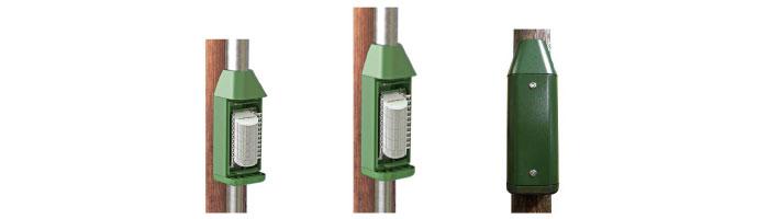OP062-01 Pole Mounted Distribution Cabinets Fiberoptik Kablo Ek Kutu