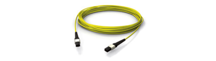 OS2 MPO/MPT MPO/MTP® Female Push Pull Locking (Yellow) Fiberoptik Kablo Aksesuarı
