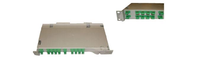 RM013-07 Connectorised Splitter Shelf ODF Çekmece