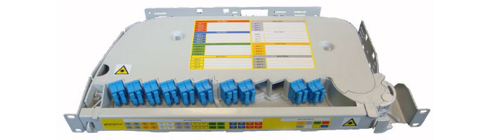 RM022-04 SRS3000 Connectorised Splitter Shelf ODF Çekmece