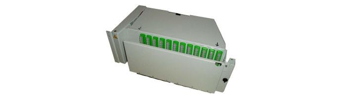 RM028-01 MEB144 4U – 144 S+P Pivoting Shelf ODF Çekmece