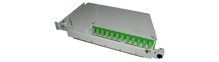 RM029-01 POB36 1U – 36 S+P Pivoting Shelf ODF Çekmece