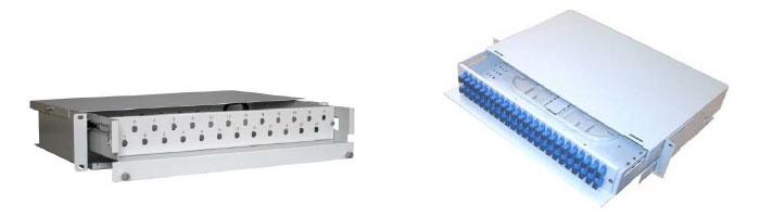 RM036-03 Dobex 2U Distribution Drawer ODF Çekmece