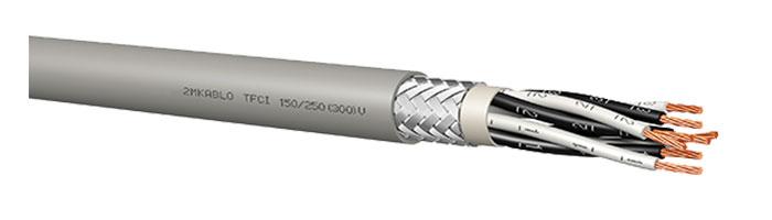TFCI 150 / 250 (300) V Gemi ve Yat Haberleşme Kontrol Kablosu