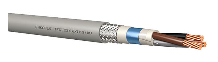 TFCI (C) 0.6 / 1 (1.2) kV Gemi ve Yat Sabit Tesisat Kablosu