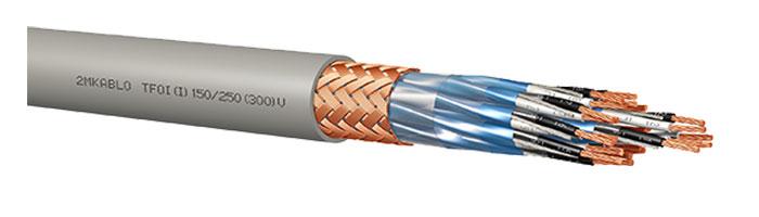 TFOI (I) 150 / 250 (300) V Gemi ve Yat Haberleşme Kontrol Kablosu