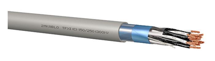 TFXI (C) 150 / 250 (300) V Gemi ve Yat Haberleşme Kontrol Kablosu