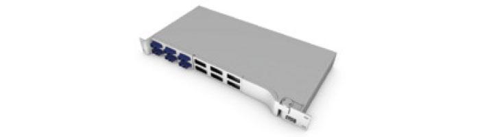 UC COMF PP SD HT BK 1U PSP Splice And Patch Shelf Fiberoptik Kablo Aksesuarı