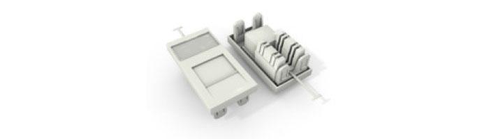 UC C300 MS TR U WH Cat5E UTP 50X25 Module 180° Punchdown In White Ekranlı Kablo Aksesuarları