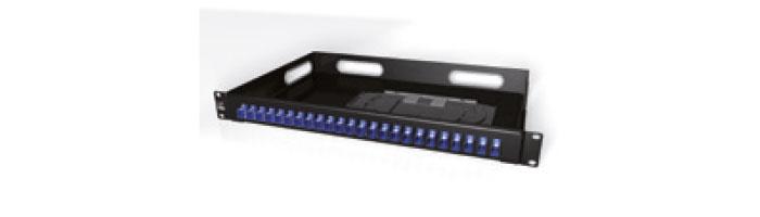 "UC CAOF PM ME 1U 1U 19"" Distribution Fixed-Type Panel, Empty Fiberoptik Kablo Aksesuarı"