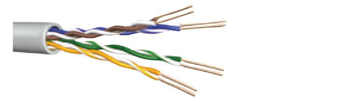 C300 24 Cat.5E U/UTP Installation Cable Ekranlı Kablo