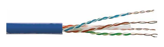 UC400 CAT.6 U/UTP HD PVC / LSOH Bakır Data Lan Kablosu