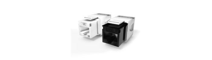 Ucconnect Keystone Jack Cat.6 RJ45 UTP 180° Tool Free Ekranlı Kablo Aksesuarı