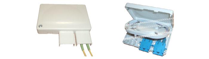 WM001-11 Compact Termination Box Fiberoptik Kablo Aksesuarı