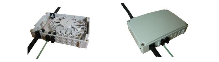 WM013-06 Riser Box Fiberoptik Kablo Aksesuarı