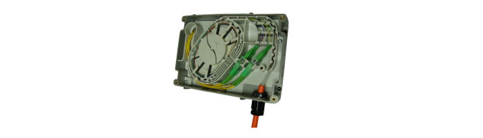 WM014-10 External Customer Splice Box Duvar Tipi Sonlandırma Kutusu