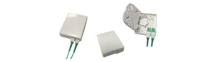 WM022-10 Ultra Compact Termination Box Fiberoptik Kablo Aksesuarı