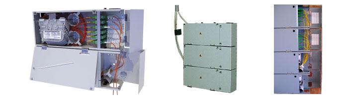 WM023-06 Multi Operator MDU Distribution Box Fiberoptik Kablo Aksesuarı