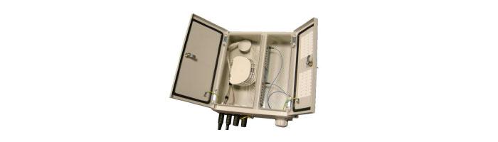 WM037-08 Two Door Termination Box - Up To 48 Duvar Tipi Sonlandırma Kutusu