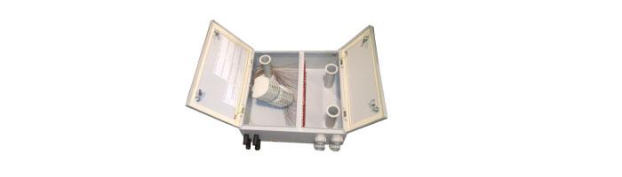 WM039-09 Two Door Termination Box - Up To 144F Duvar Tipi Sonlandırma Kutusu
